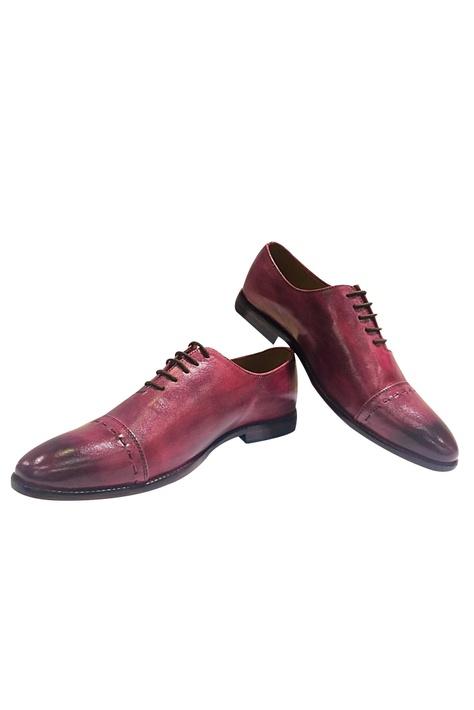 Tie Up Block Heel Shoes