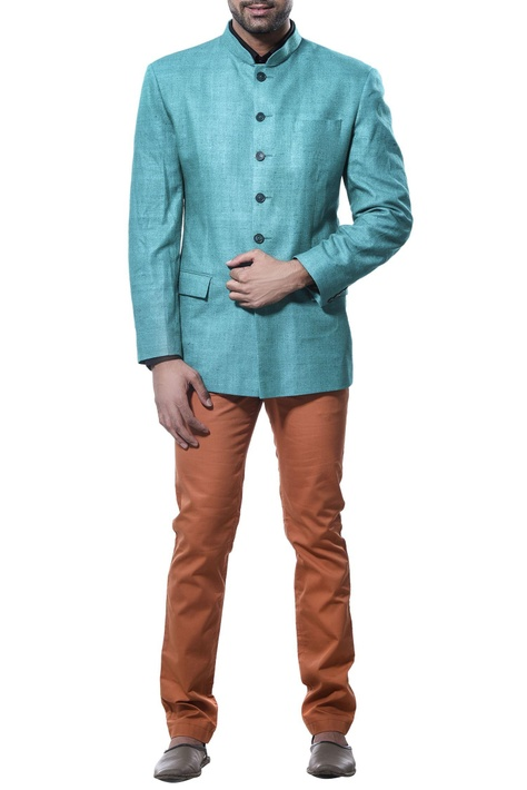 Full sleeves nehru jacket
