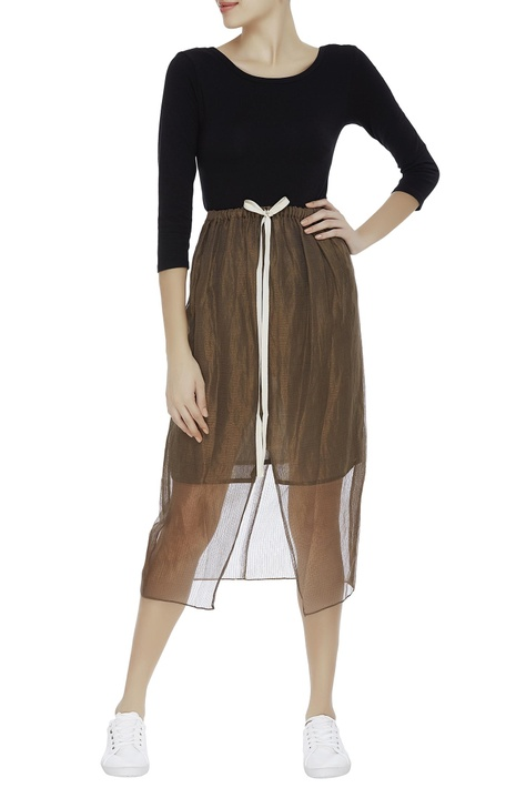 Kota silk shiny skirt