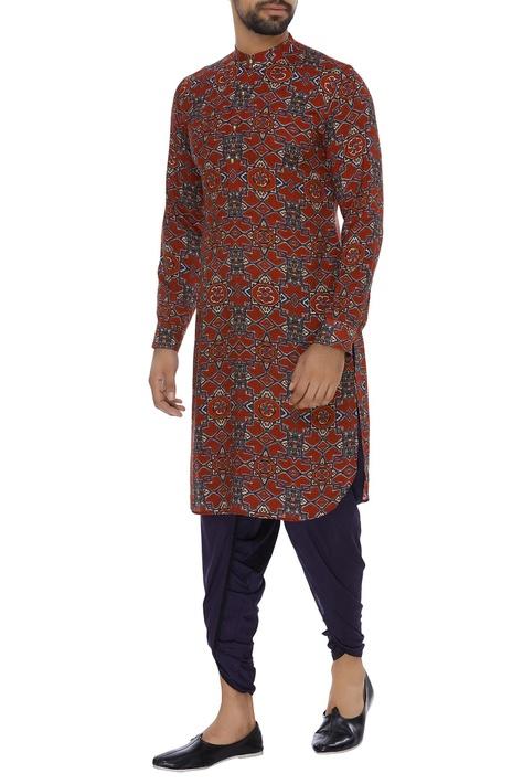 Cotton silk dhoti pants