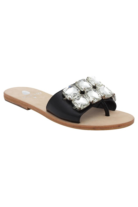 Rhinestone Slip On Sandals