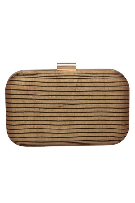 Striped clutch box