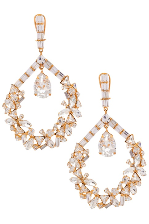 Crystals windfall earrings