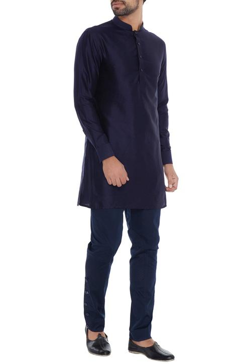 Navy blue casual breeches