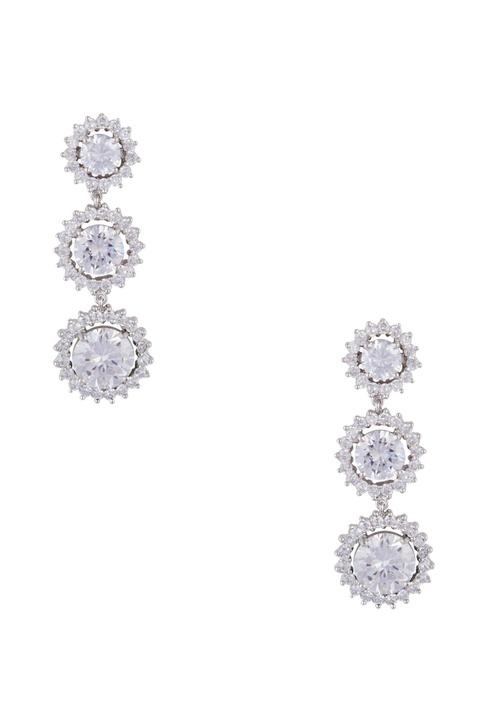 Long dangling cocktail earrings