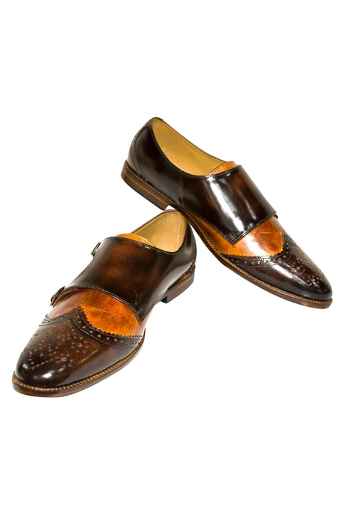 Flap Style Buckle Design Shoes