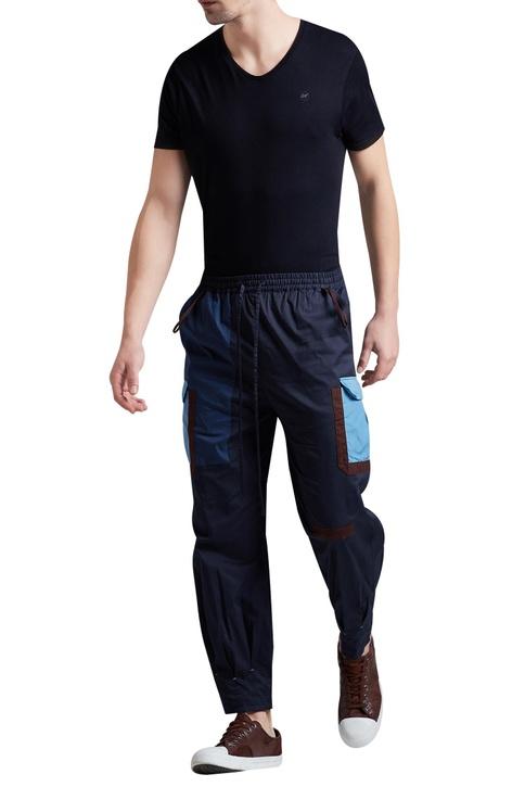 Jogger style elastic waist pants