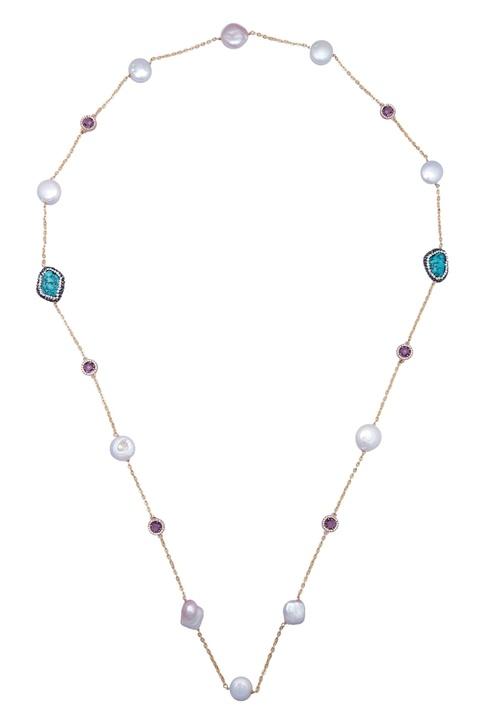 Pearl sleek necklace