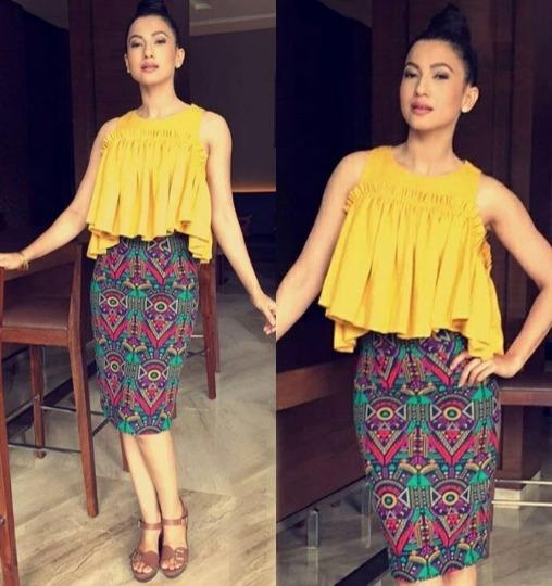 Gauhar Khan in aza designer in Reynu Taandon