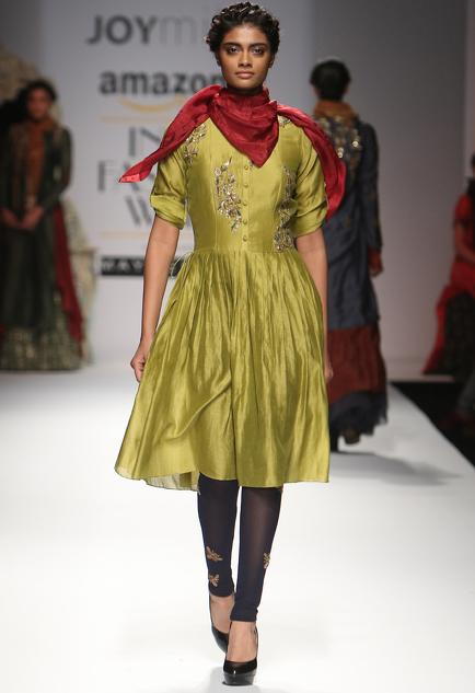 Latest Collection of Kurta Sets by Joy Mitra