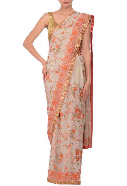 Latest Collection of Saris by Aarti Talwar