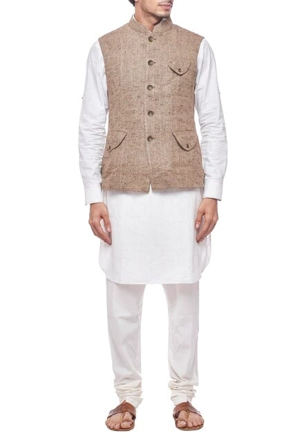 Latest Collection of Nehru Jackets by Dhruv Vaish