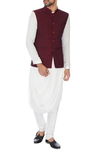 Latest Collection of Nehru Jackets by MEHRAAB - Men