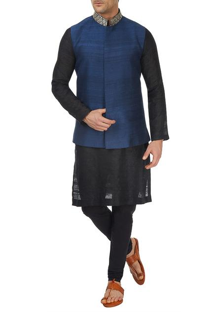 Latest Collection of Nehru Jackets by SVA - Men