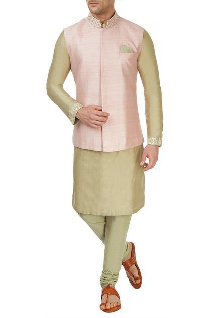 Latest Collection of Nehru Jackets by SVA - Men