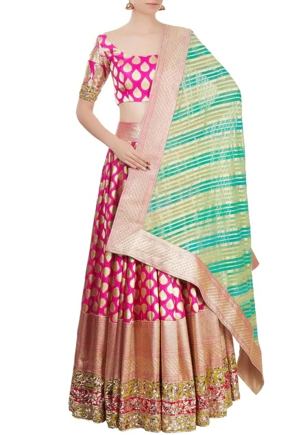 Latest Collection of Lehengas by Manish Malhotra