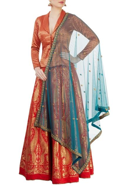 Latest Collection of Lehengas by Pranay Baidya