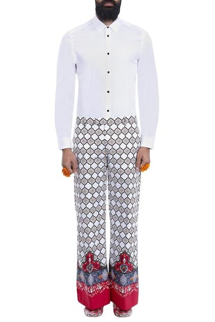 Latest Collection of Trousers by Mr. Ajay Kumar - Men