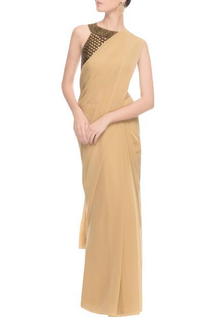 Latest Collection of Sari Blouses by Vandana Sethi