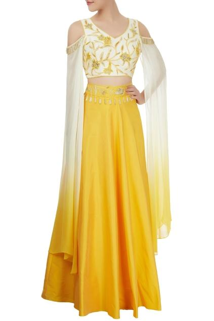 Latest Collection of Skirt Sets by Kresha Lulla
