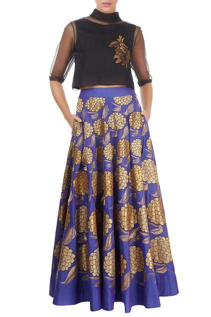 Latest Collection of Skirts by Taika by Poonam Bhagat