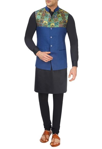 Latest Collection of Nehru Jackets by Sadan Pande - Men