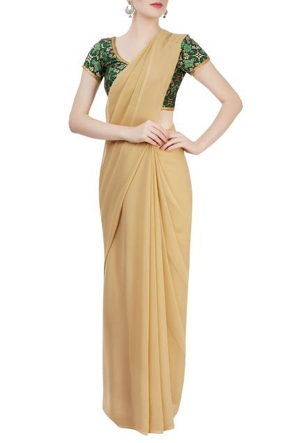 Latest Collection of Sari Blouses by Divya Kanakia