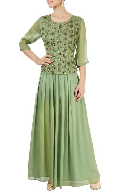 Latest Collection of Skirt Sets by Priyam Narayan