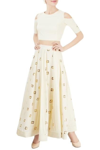 Latest Collection of Skirt Sets by Anjul Bhandari
