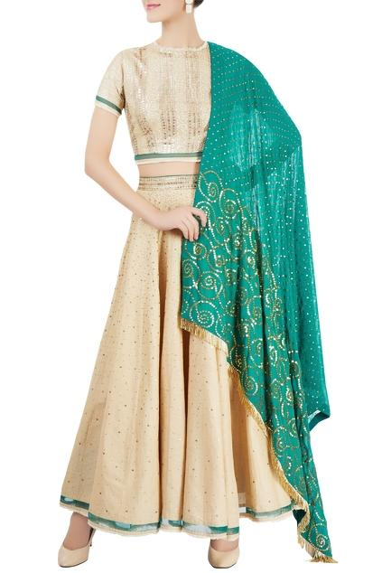 Latest Collection of Lehengas by Anjul Bhandari