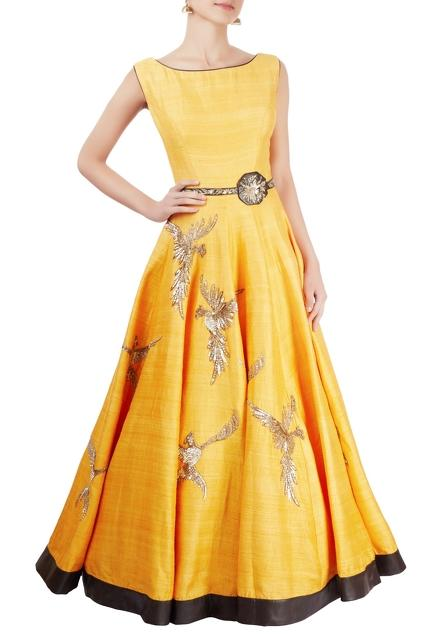 Latest Collection of Gowns by Matsya