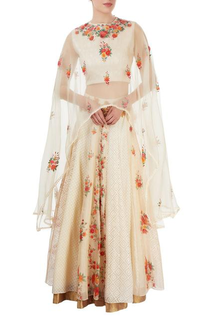 Latest Collection of Skirt Sets by Neeta Bhargava