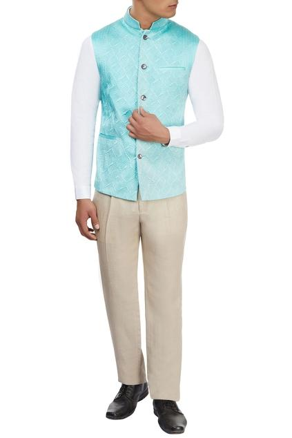 Latest Collection of Nehru Jackets by Unit By Rajat Suri