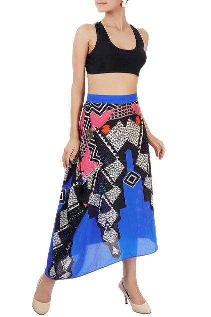 Latest Collection of Skirts by Turquoise and Gold