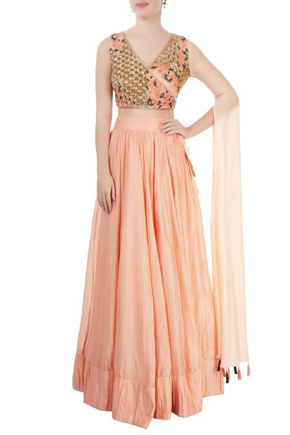 Latest Collection of Lehengas by Neha Khullar