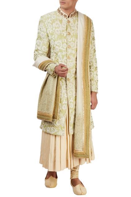 Latest Collection of Sherwanis by Sarab Khanijou