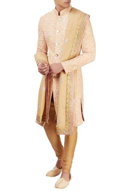 Latest Collection of Sherwanis by Sarab Khanijou