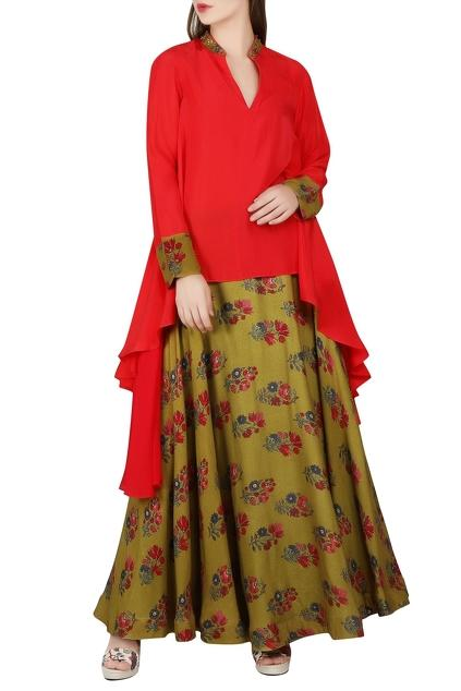 Latest Collection of Skirt Sets by Nikasha