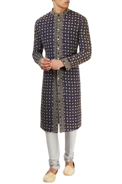 Latest Collection of Sherwanis by Qbik by Gurinder Singh