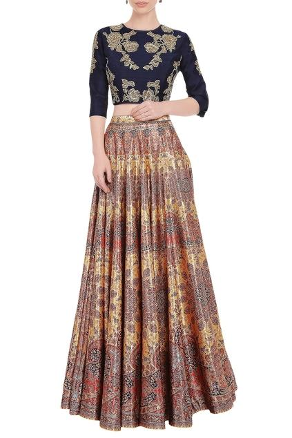 Latest Collection of Skirt Sets by Falguni Shane Peacock