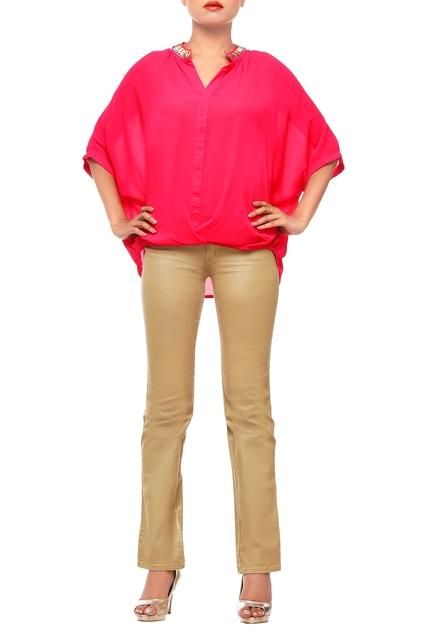 Latest Collection of Tops by Komal Sood