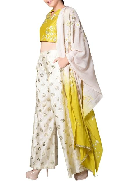 Latest Collection of Pant Sets by Mandira Wirk