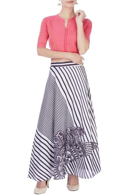 Latest Collection of Skirt Sets by Manasi Sengupta