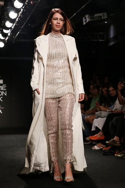 Latest Collection of Pants by Nikita Mhaisalkar