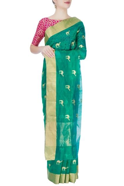 Latest Collection of Saris by Sailesh Singhania