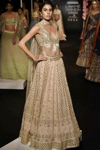 Latest Collection of Lehengas by Monika Nidhii