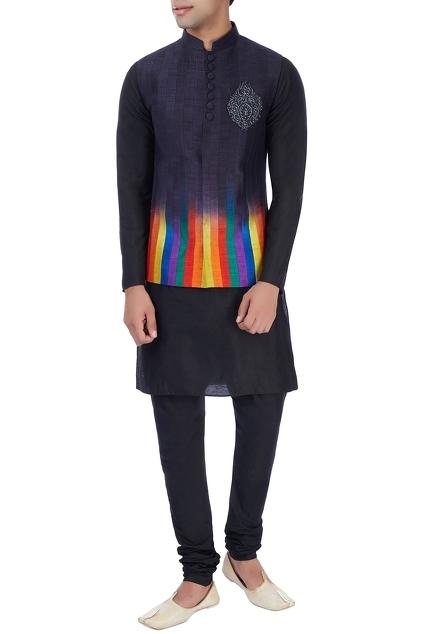 Latest Collection of Nehru Jackets by Manish Nagdeo - Men