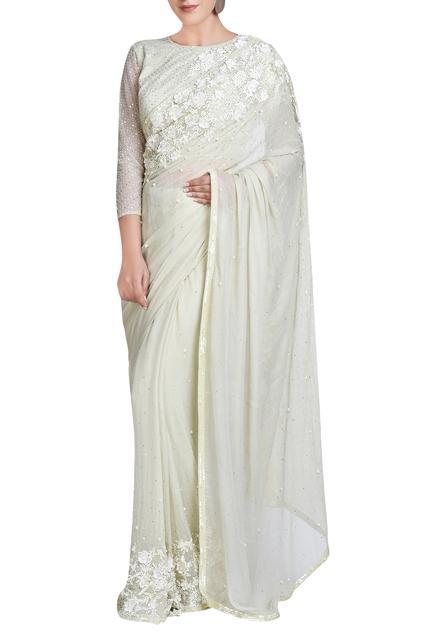 Latest Collection of Saris by Rabani & Rakha
