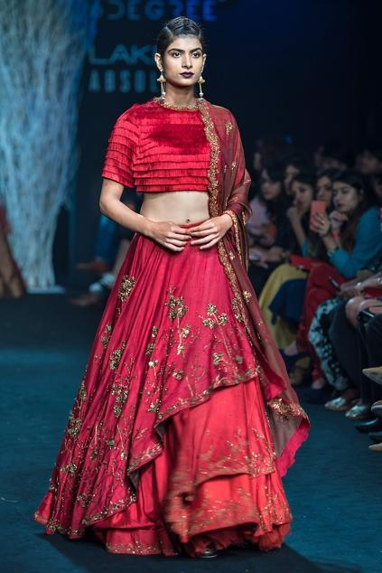 Latest Collection of Lehengas by Ruceru