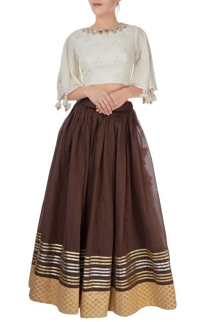Latest Collection of Skirt Sets by Divya Kanakia